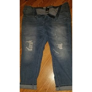 Women's Jean Capri Pants